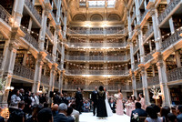 Rachel + Cecil -- The George Peabody Library
